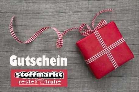 Gutschein für Stoffe Bielefeld Gardinen Bettwäsche und Vorhänge