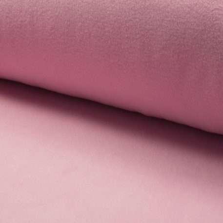 Polar Fleece Stoff Antipilling Polarfleece Meterware Bekleidung Uni Hell Rosa